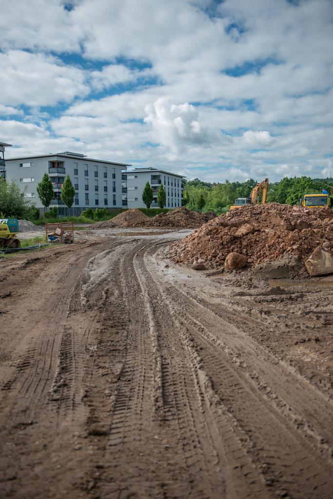 Baustelle Stadtbau Pforzheim