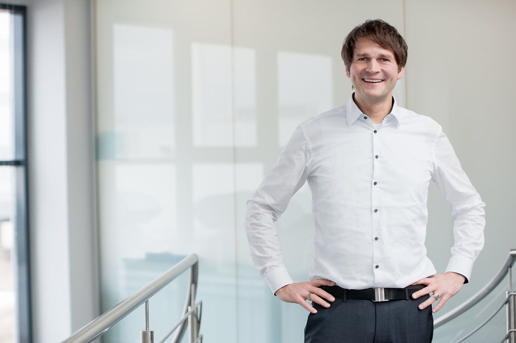 Businessportrait Stark Druck Pforzheim
